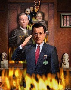 stephen colbert, market volatility, embracing suffering, when your business blows up,