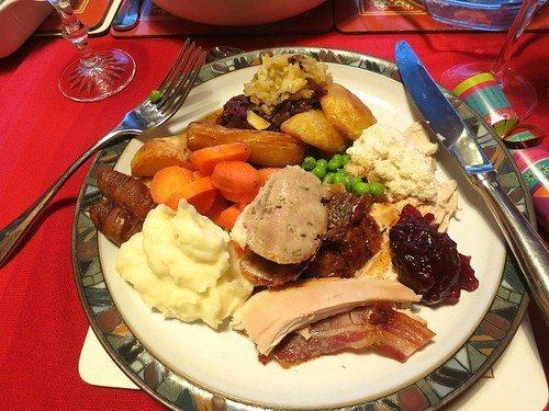 turkey dinner photo