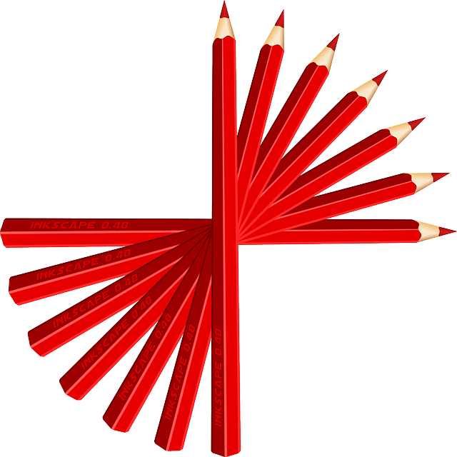 red pencil photo